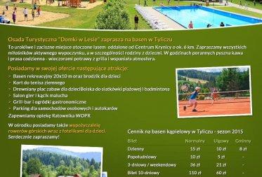 Otwarty basen w Tyliczu